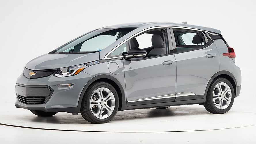 Chevrolet Bolt With Updated Headlights Earns IIHS Top Safety Pick
