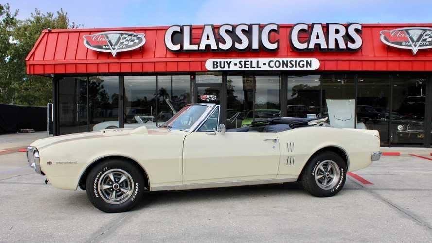 Drop The Top In This Classic 1967 Pontiac Firebird 400