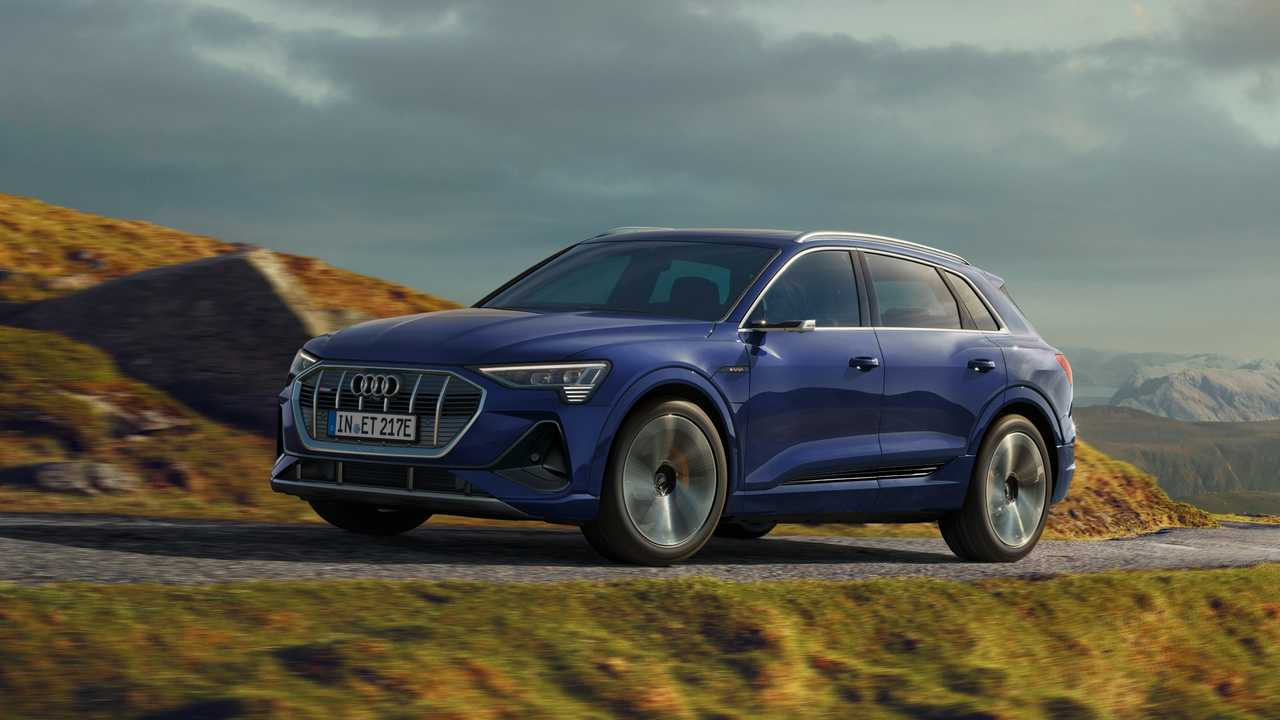 2020 Audi E-Tron with S Line exterior package (Euro model)
