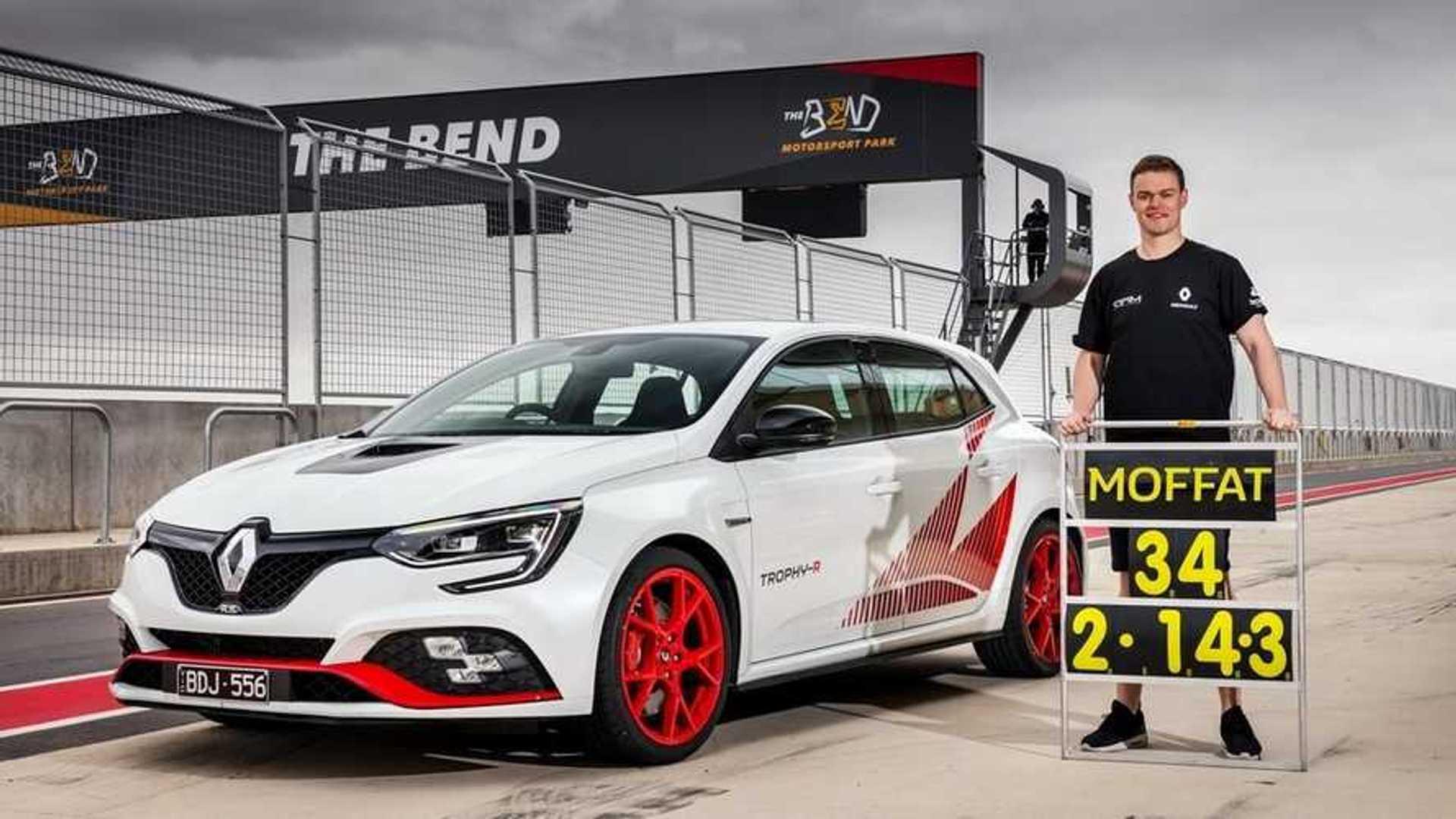 La Renault Mégane R.S. Trophy-R s'offre un nouveau record