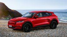 ford mustang mach e ev crossover name