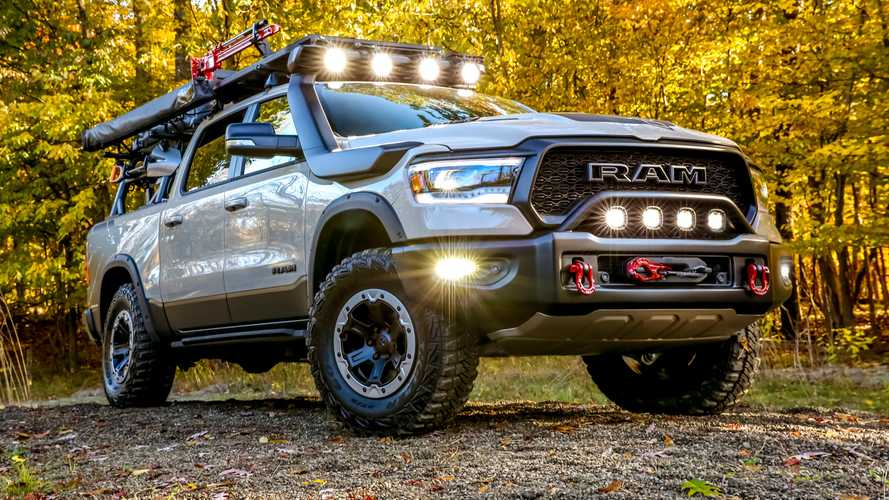 Ram 1500 Rebel OTG Concept Explores The Truck's Adventurous Side