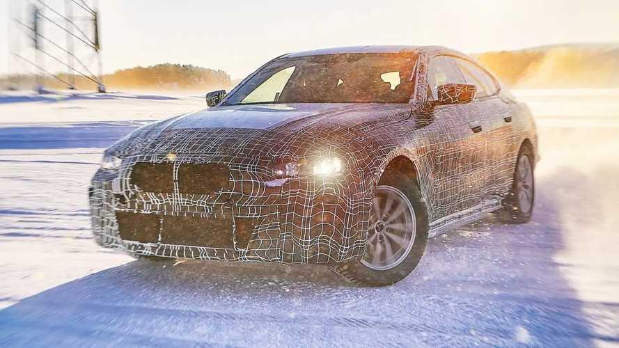 2022 BMW i4 teasers