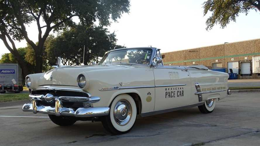 Award-Winning 1953 Ford Crestline Sunliner Pace Car Auctions For $54K