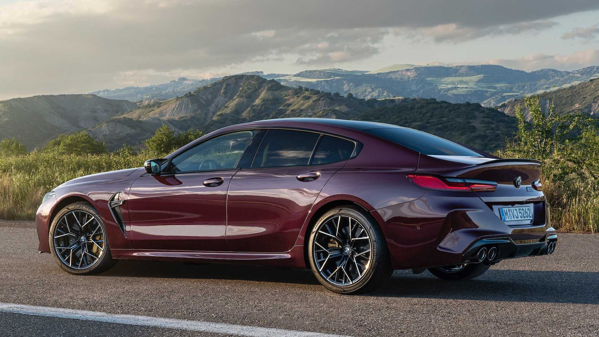 Bmw M8 Gran Coupe A Fire Breathing Four Door With Up To 617 Hp