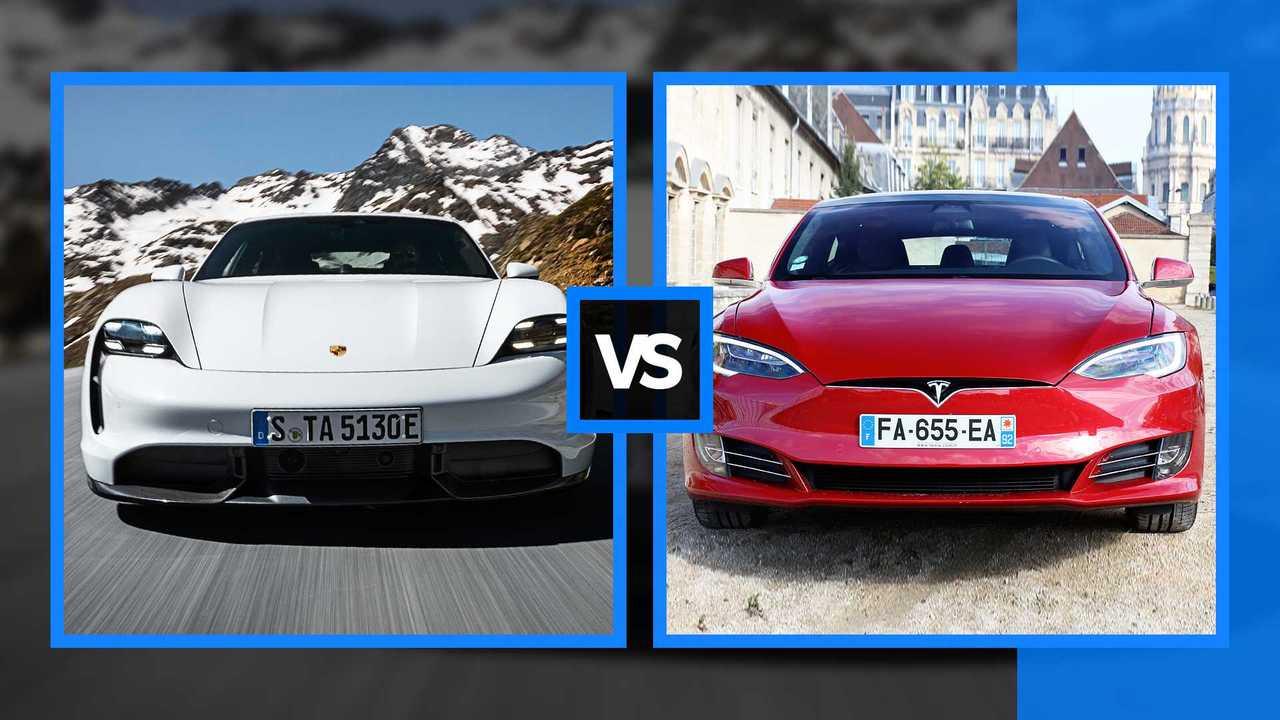 Taycan vs Model S