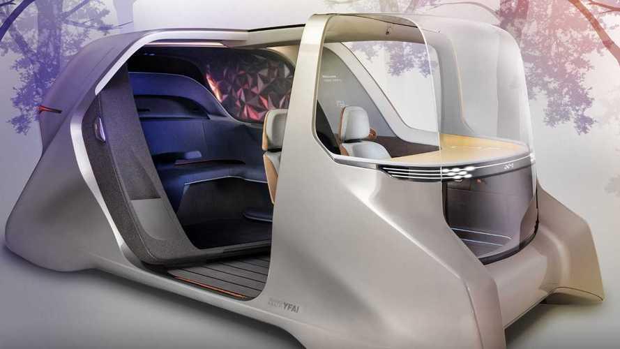 Yanfeng XiM20: Studie eines autonomen Ridesharing-Fahrzeugs