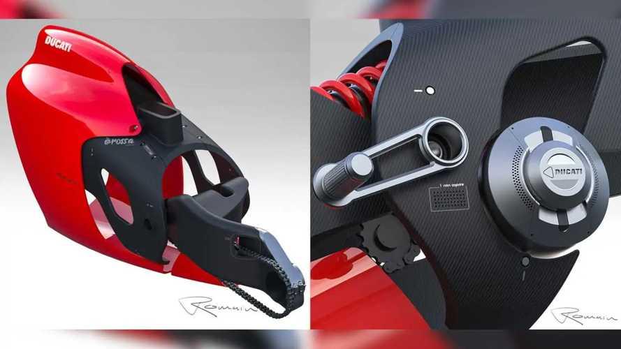 Ducati E Rossa Electric Concept