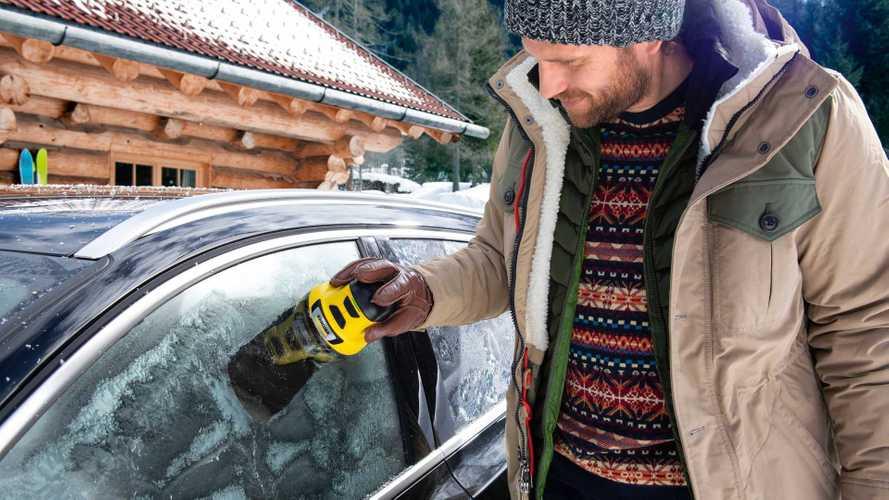 Kärcher EDI 4: Mit dem elektrischen Eiskratzer kann der Winter kommen