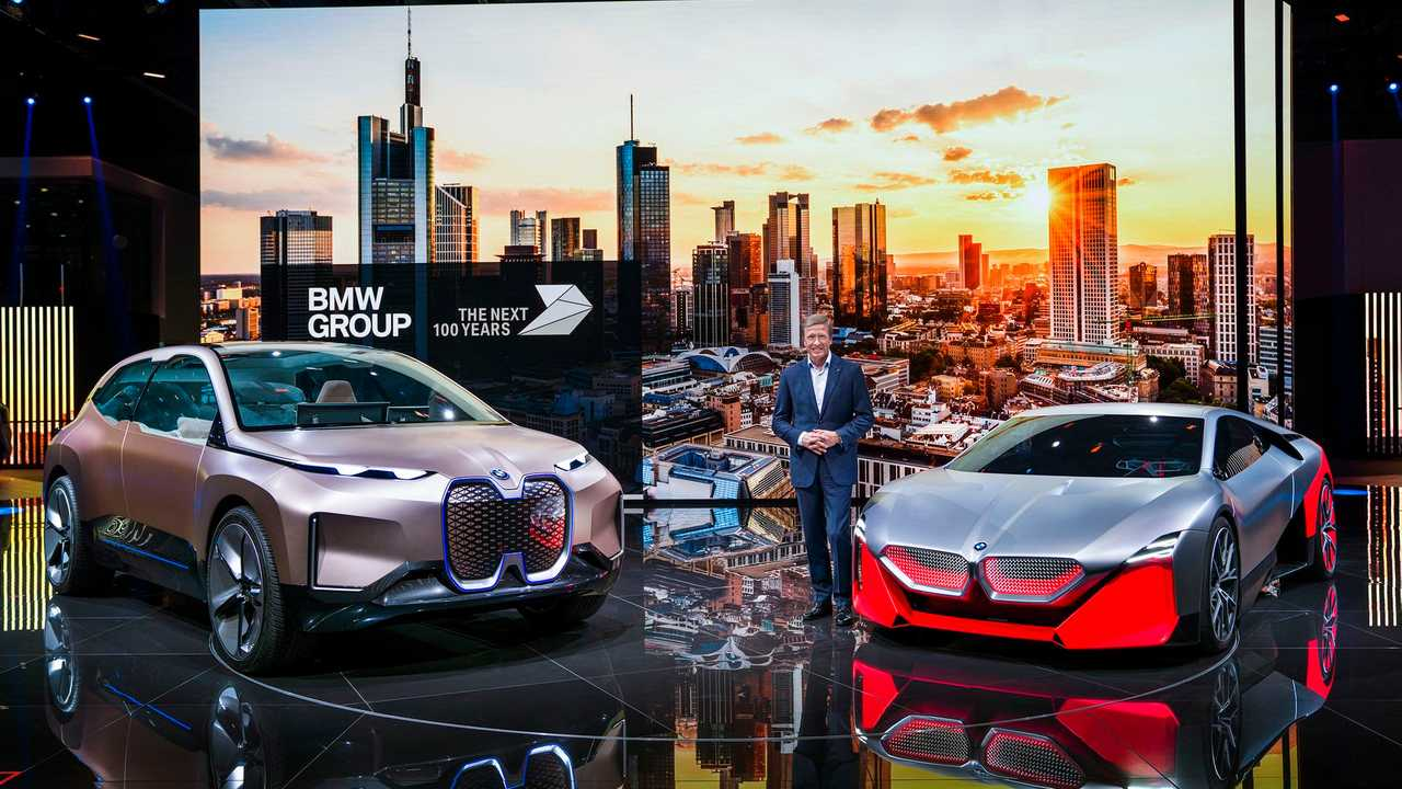 BMW CEO Oliver Zipse at the 2019 Frankfurt Motor Show