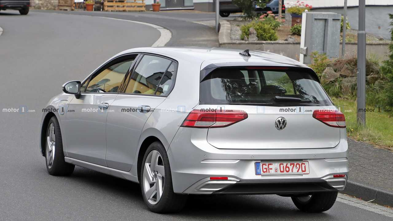 2021 Vw Golf Gte Spied With 99 Percent Of The Camo Gone