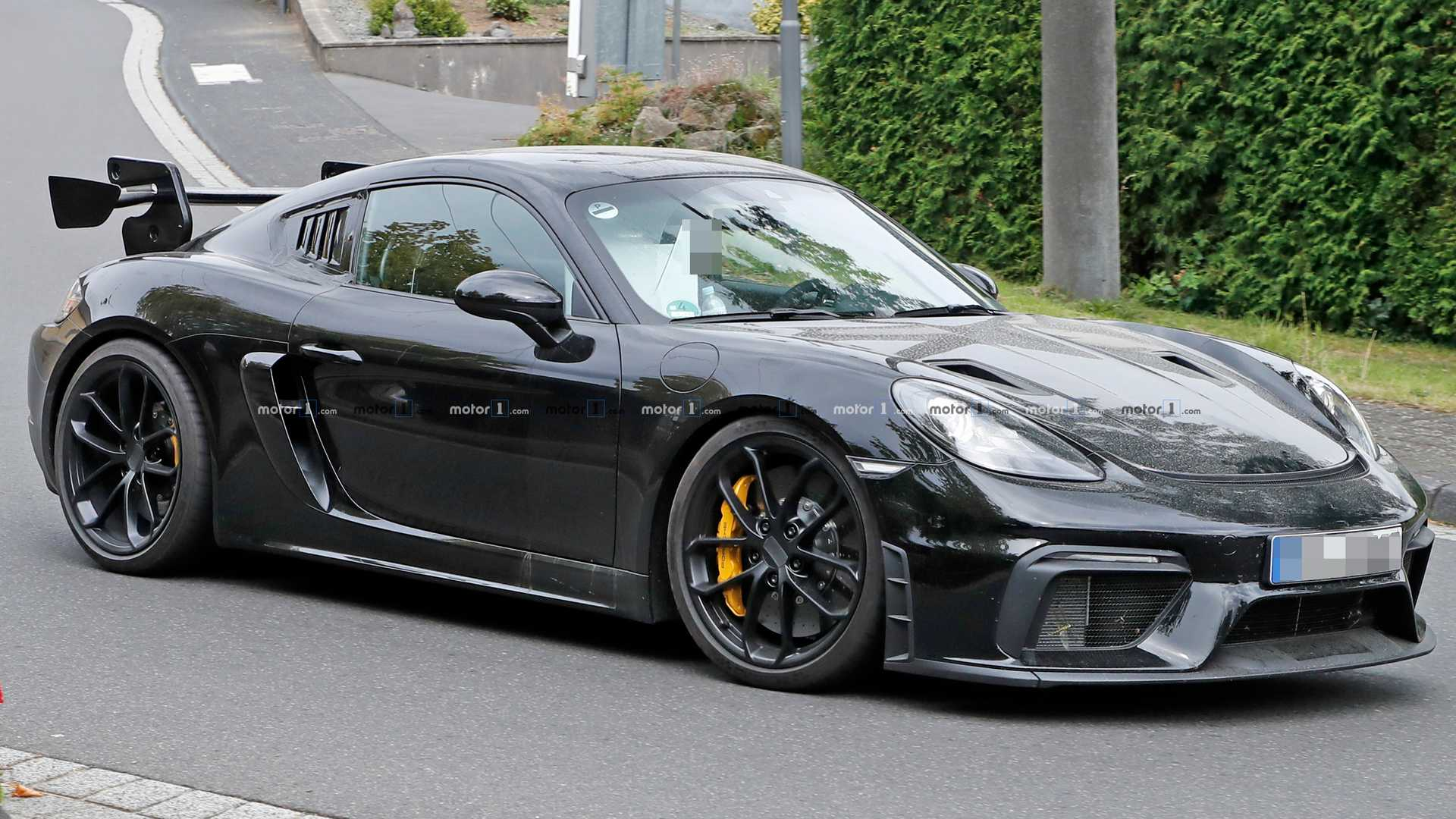 Porsche 718 Cayman Gt4 Rs Potentially Spied Testing At The Ring