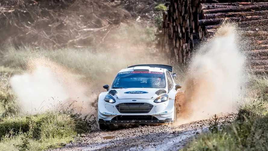 Ford Fiesta WRC, la prova