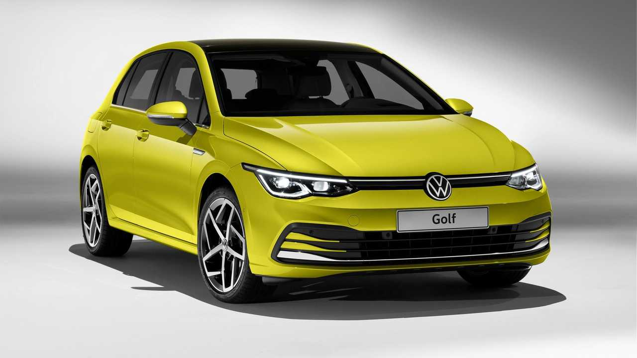 2020 volkswagen golf 8 revealed with 11 engine options. Black Bedroom Furniture Sets. Home Design Ideas