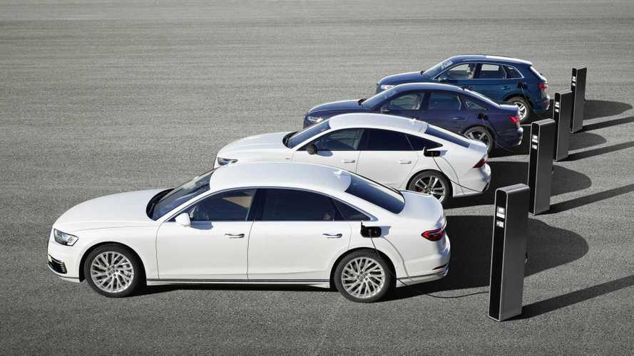 Audis neue Plug-in-Hybride: Aufladbare Modelle bald in jeder Baureihe?
