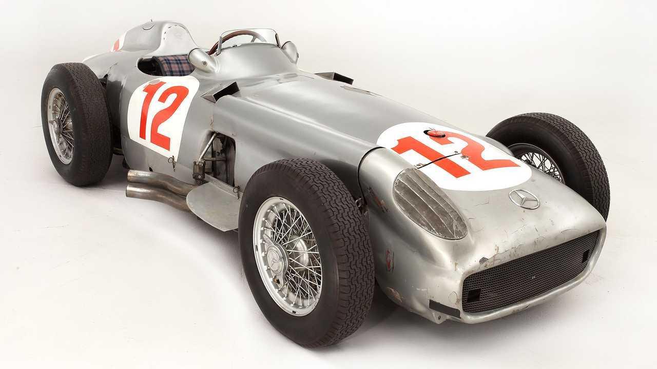 Mercedes W196R F1 (1954) - 22 миллиона евро