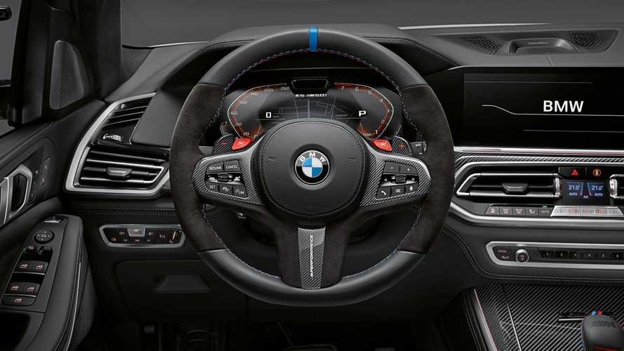 BMW X5 M, X6, X6 M y X7 con accesorios M Performance Parts