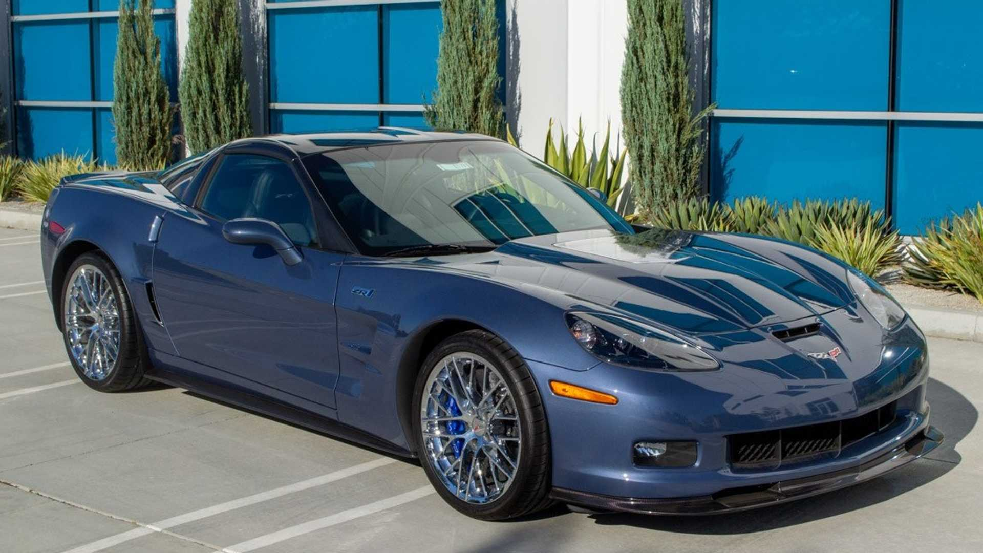 "[""Own This Rare-Colored 2011 Chevy  Corvette ZR1 With 838 Miles""]"