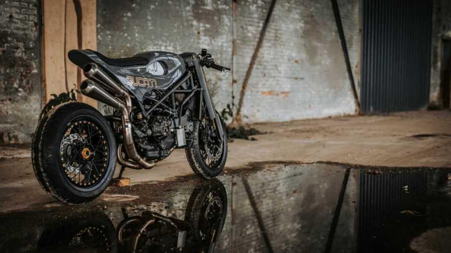 Moto Adonis Tackles A Custom Ducati S4R