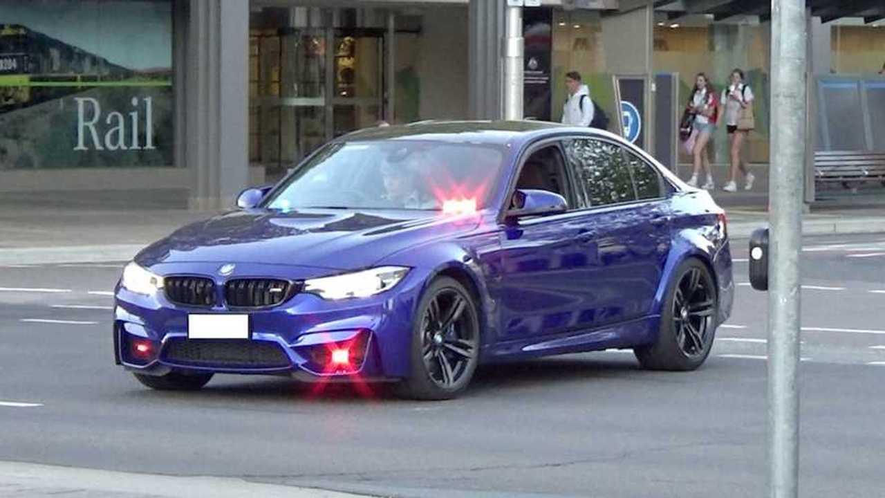 Unmarked BMW M3 Australian Police Car