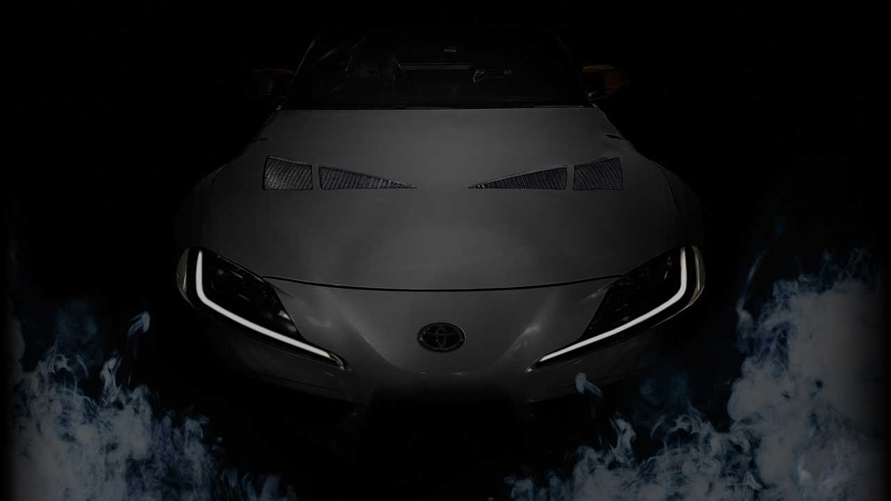 Toyota Supra 3000GT Concept Teased With Big Wing For SEMA