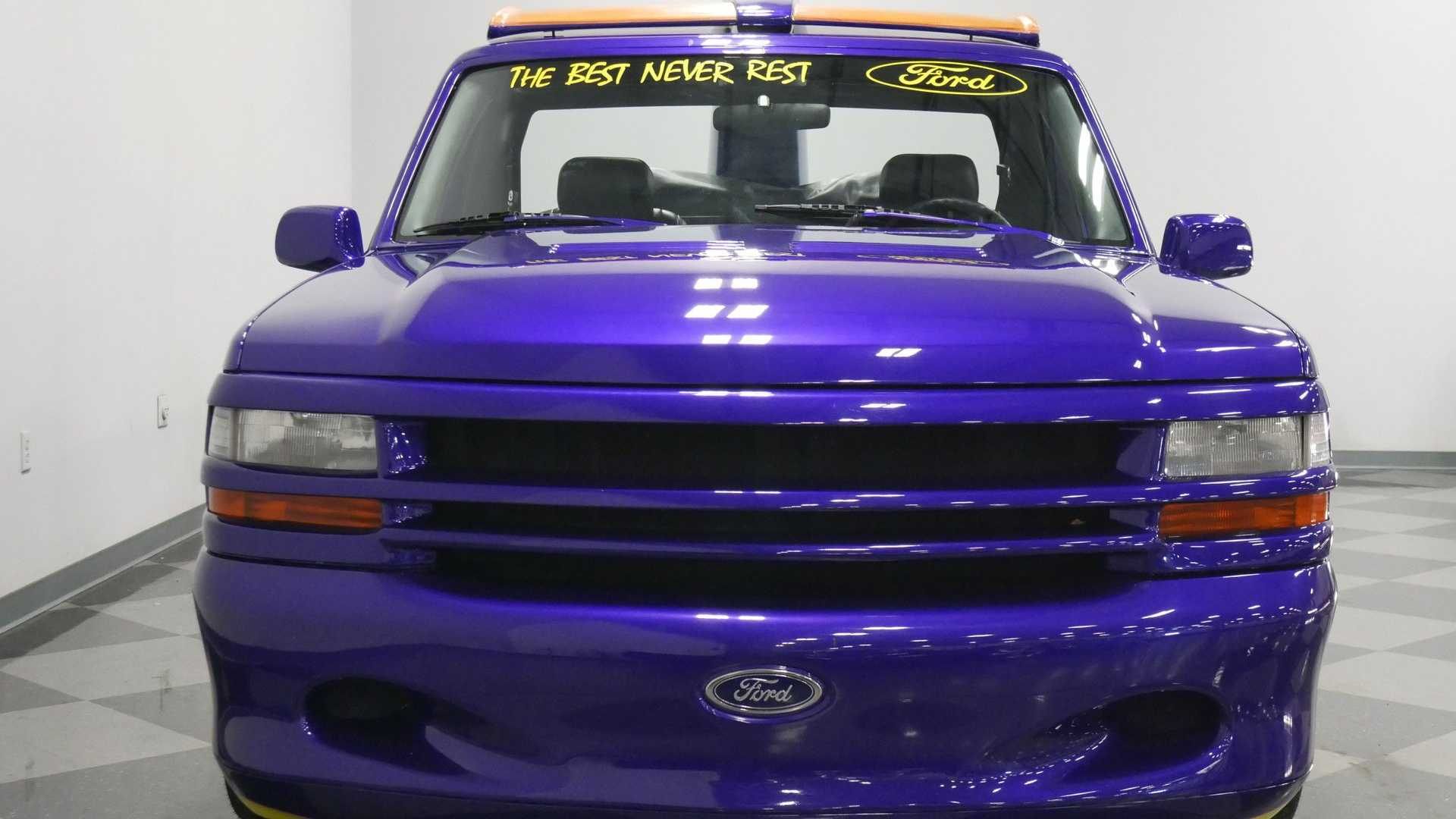 """[""""Own A Piece Of Indy Car History With This Ford F-150 PPG Pace Truck""""]"""