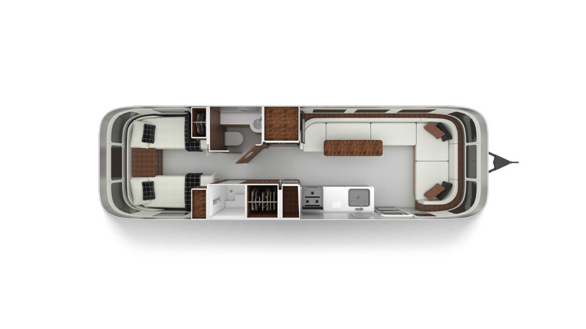Airstream Globetrotter Gets Two New 30-Foot Floorplans