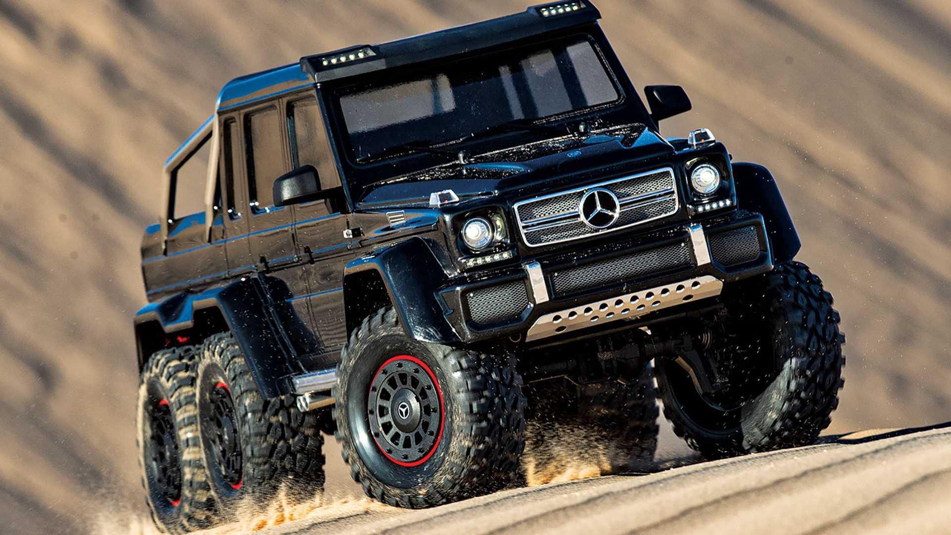 Este Mercedes Amg G 63 6x6 Es El Coche Definitivo De Radiocontrol
