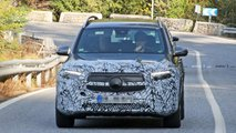 Mercedes-Benz EQB spy photos