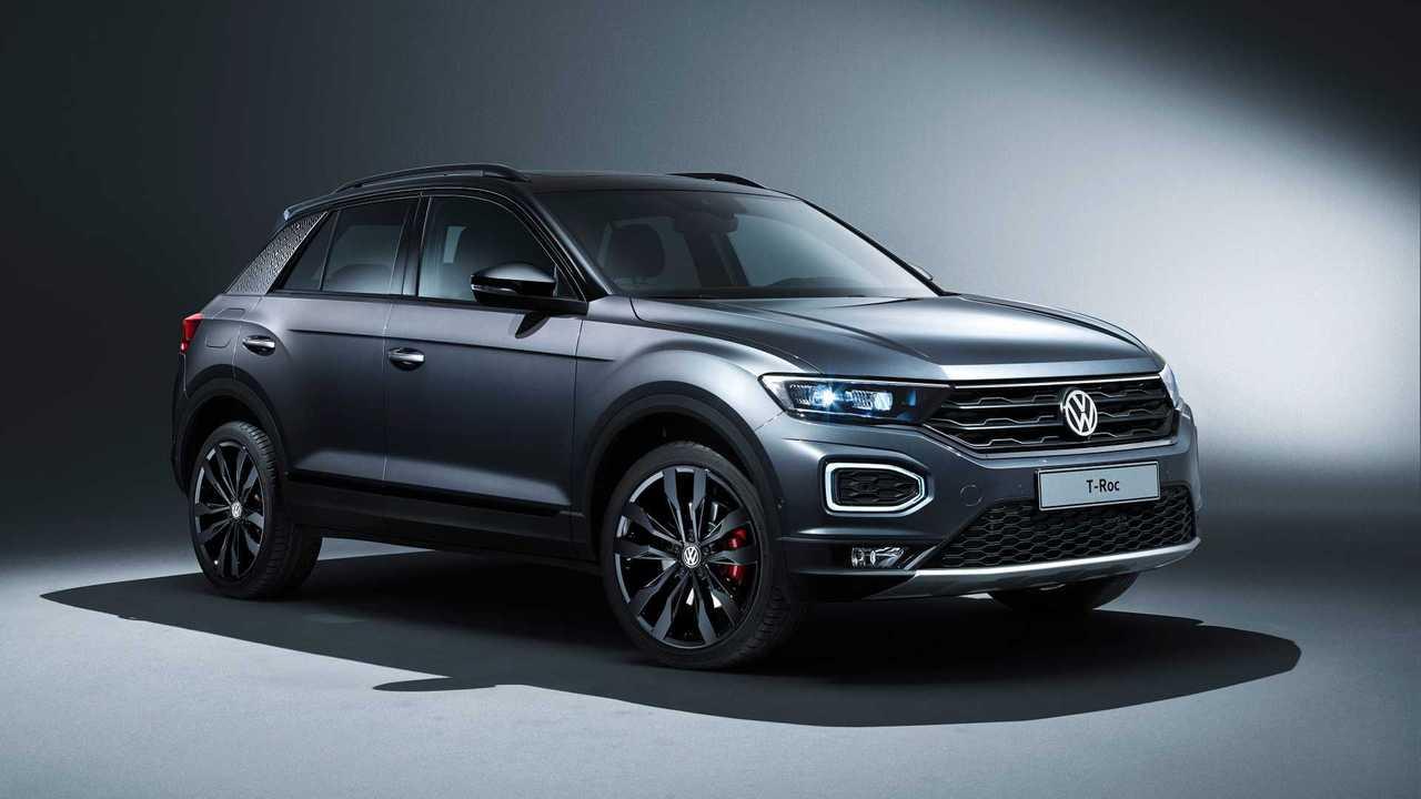 """VW T-Roc (2019) felszereléscsomaggal """"Black Style"""""""