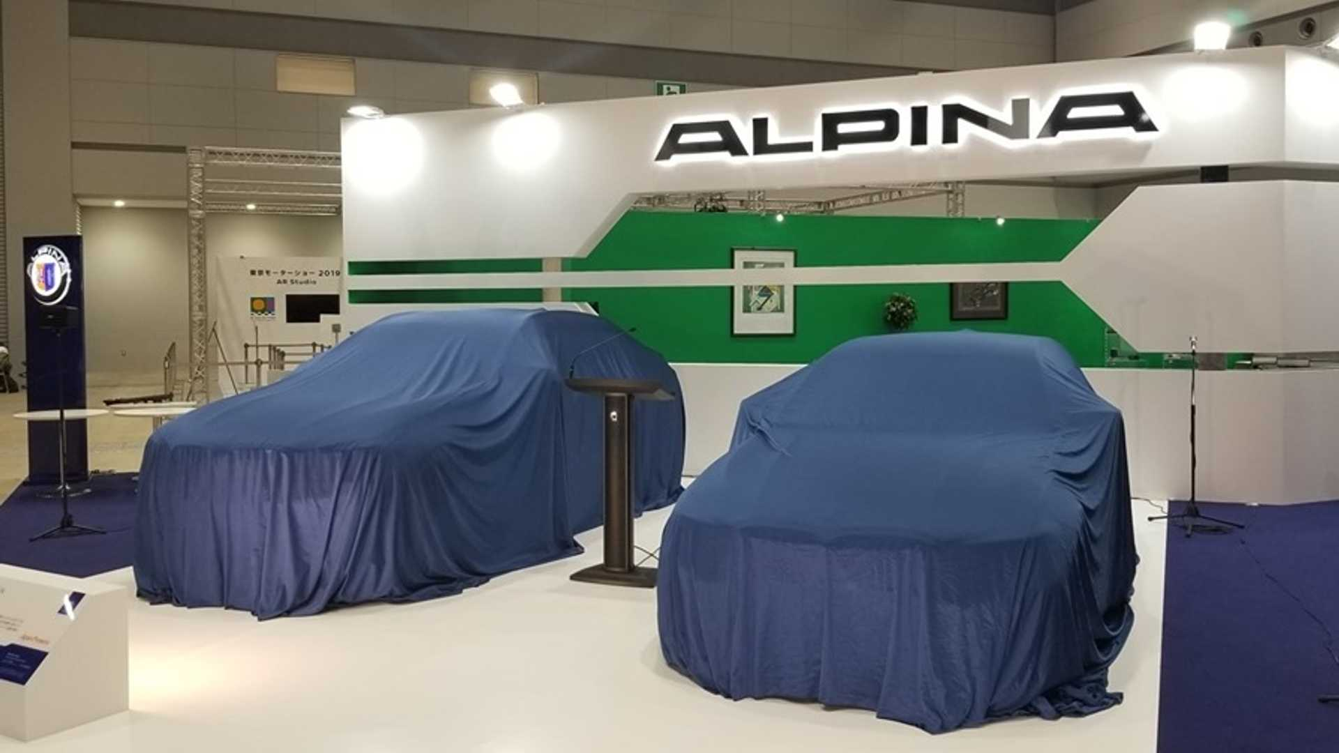 BMW Alpina B3 Bi-Turbo Sedan Teased Before Tomorrow's Debut