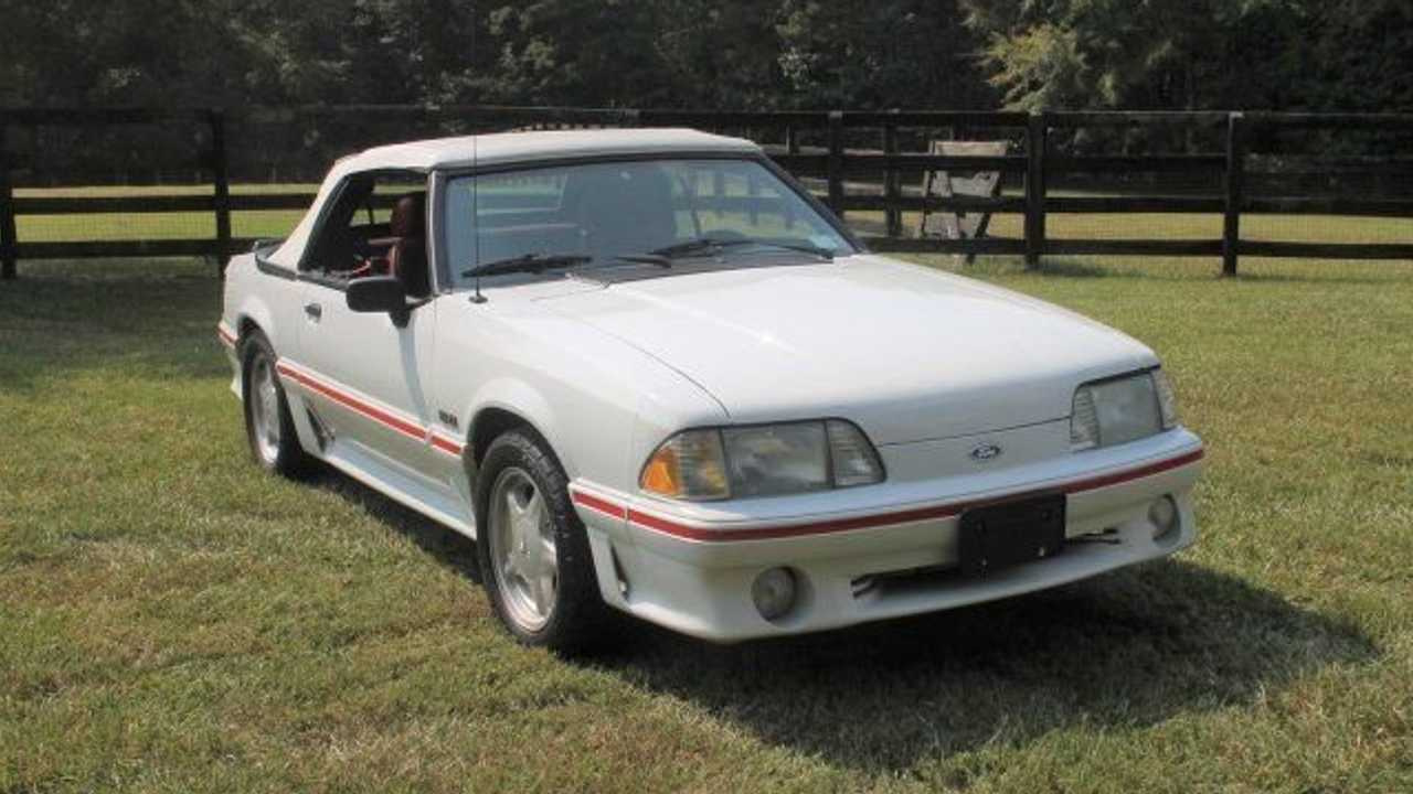 Get Foxy In This 1988 Ford Mustang GT Convertible