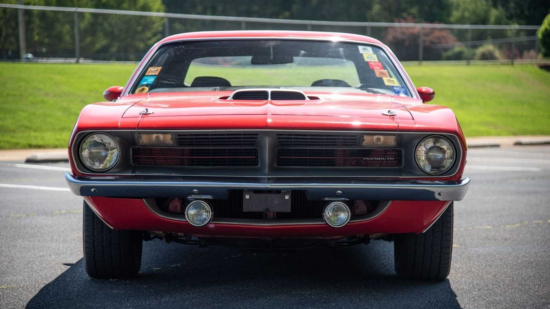 """[""""For $245K, Snag This Numbers-Matching 1970 Plymouth 'Cuda""""]"""