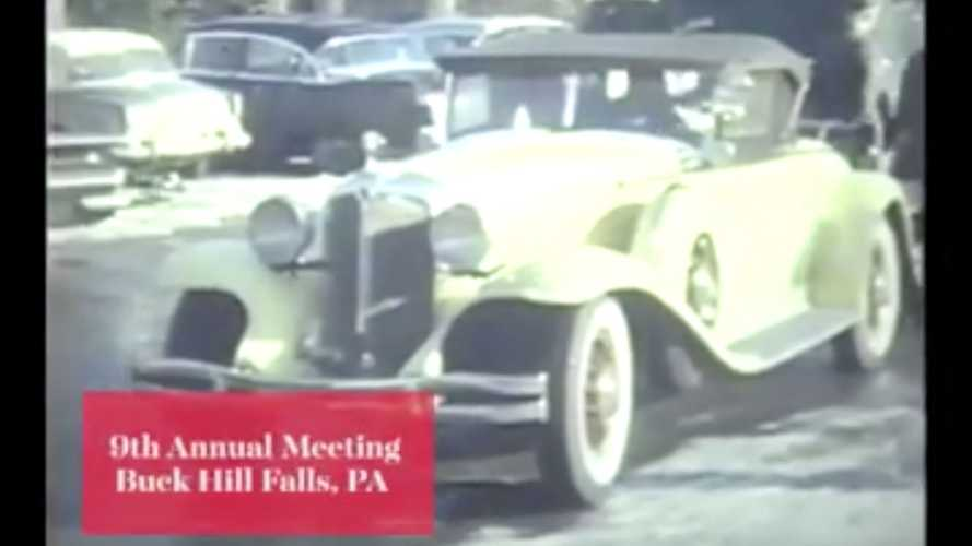 A Vintage Video Tour Of The CCCA's 9th-Annual Meeting At Buck Hill Falls