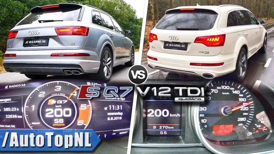 How Does The Audi Q7 V12 TDI Stack Up Against The SQ7?