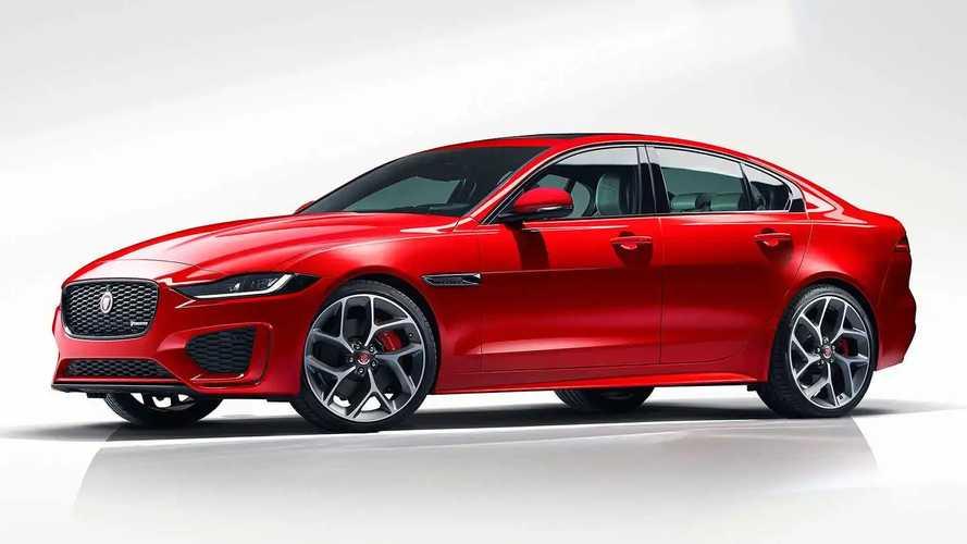 Jaguar XE restyling (2019)