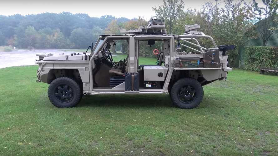 This Defenture 4x4 military vehicle is all you need