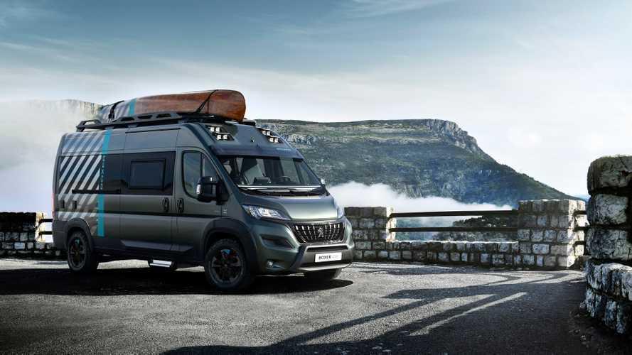 Peugeot Boxer 4x4 Concept: Neue Studie für Outdoor-Fans