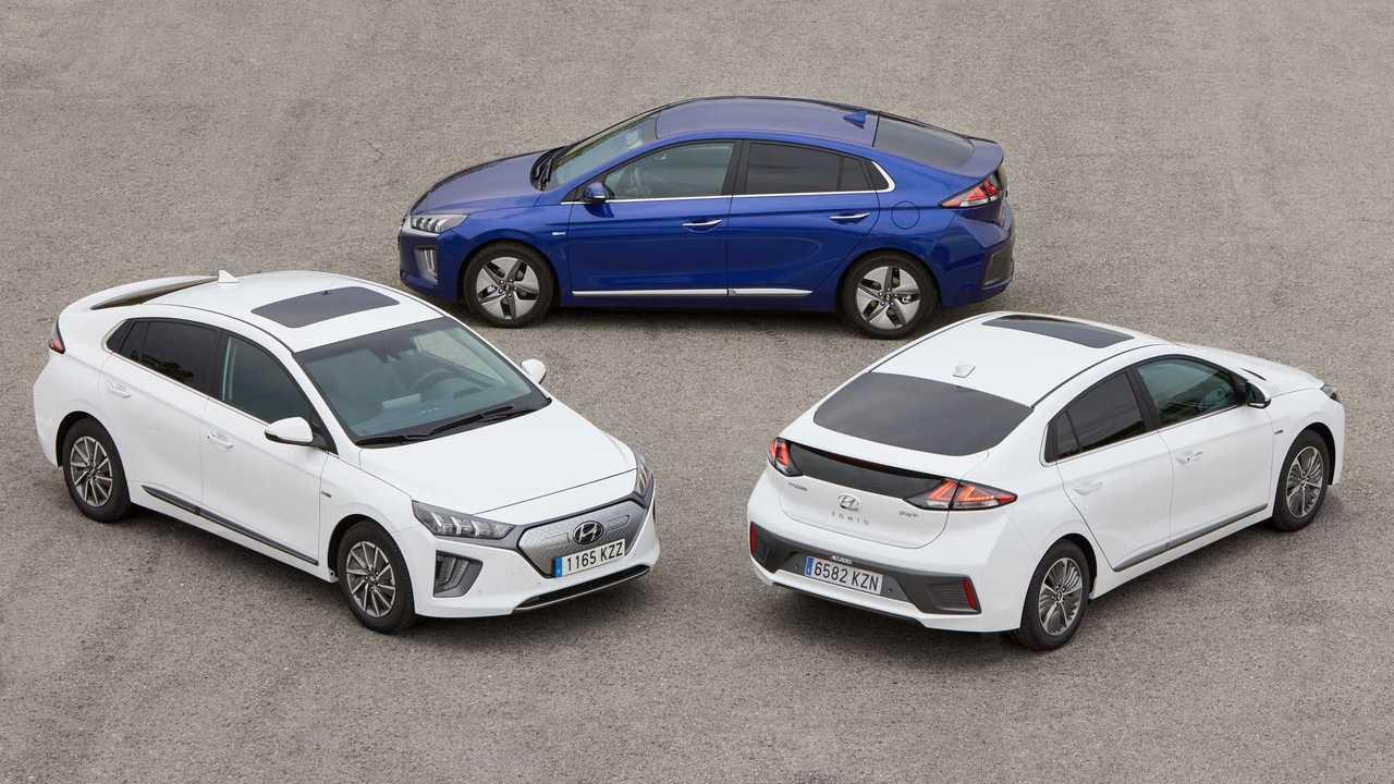 Gama Hyundai IONIQ facelift 2019