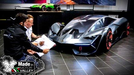 See where Lamborghini's iconic designs are born