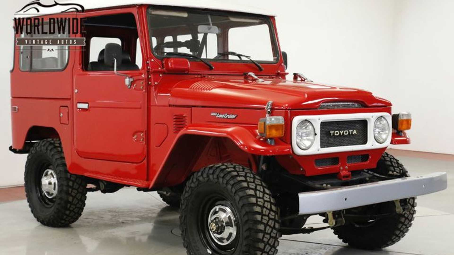 "[""Grab A Complete 1981 Toyota FJ40""]"