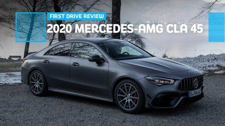 2020 Mercedes-AMG CLA 45 first drive: Spiritful successor