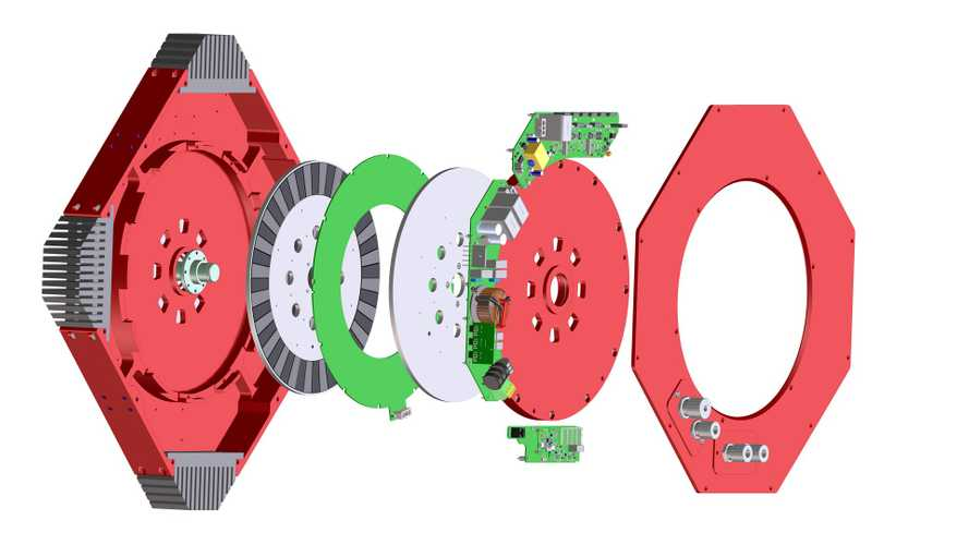 Infinitum Electric Creates A Motor With a Printed-Circuit-Board Stator