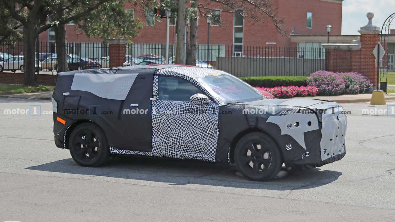 2021 Ford Mach E Is Ford's First Electric SUV >> Ford Mustang Inspired Electric Suv Spied Wearing Production Metal