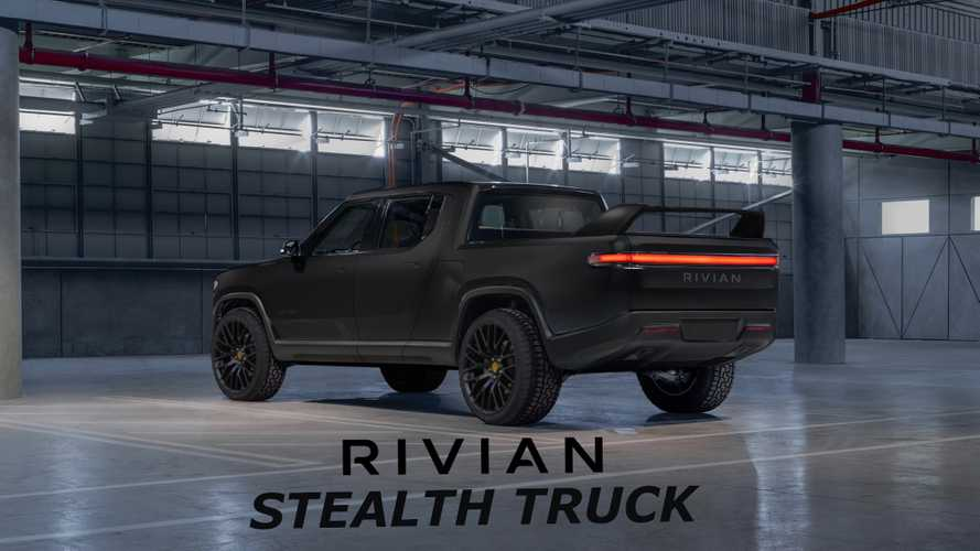 Rivian R1T Rendered In New Colors