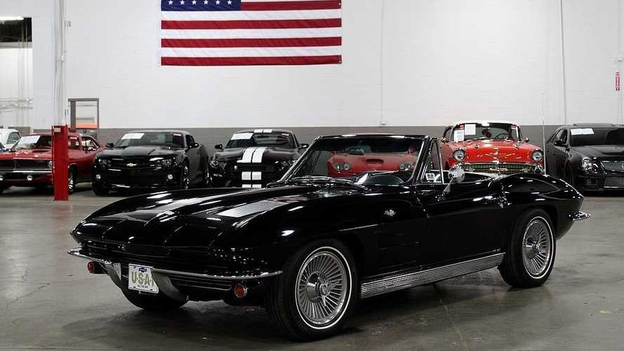 For Under $70K, Go Topless In This Restored 1963 Chevy Corvette