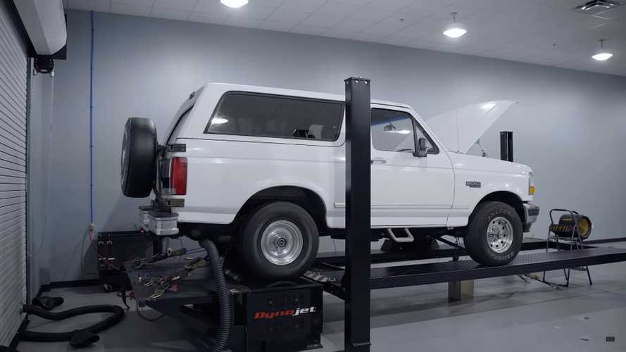 Tes Dyno Ford Bronco 1996 dengan V8 Orisinal, Hasilnya Memuaskan