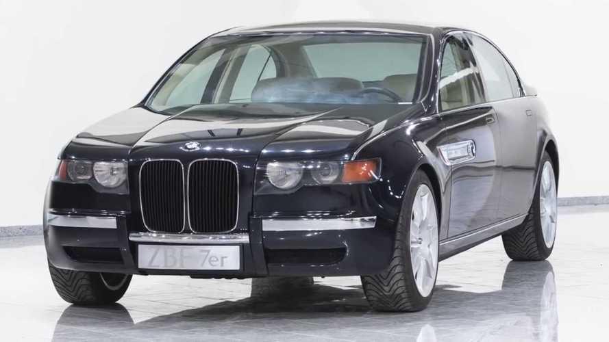 Hand-Built BMW Design Study Had Massive Grille, Hand-Cut Tires