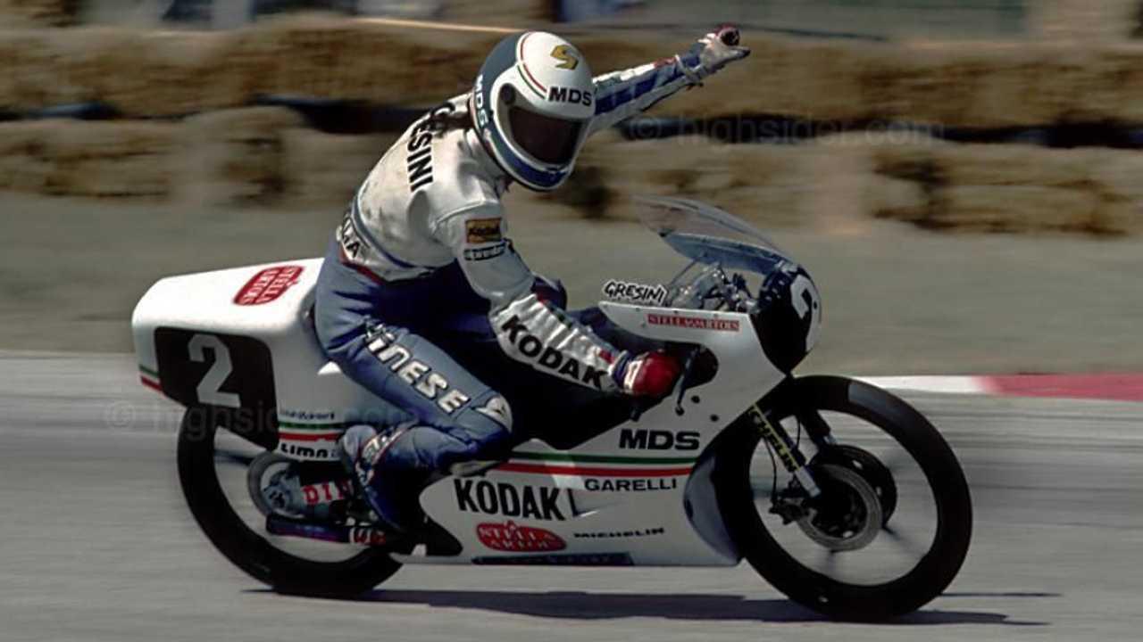 Fausto Gresini - 1987