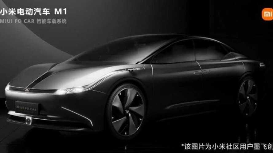 Xiaomi показал рендеры своего автомобиля: оказалось это плагиат